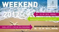 WEEKEND MEDIA FESTIVAL ROVINJ 20-23.09.2012