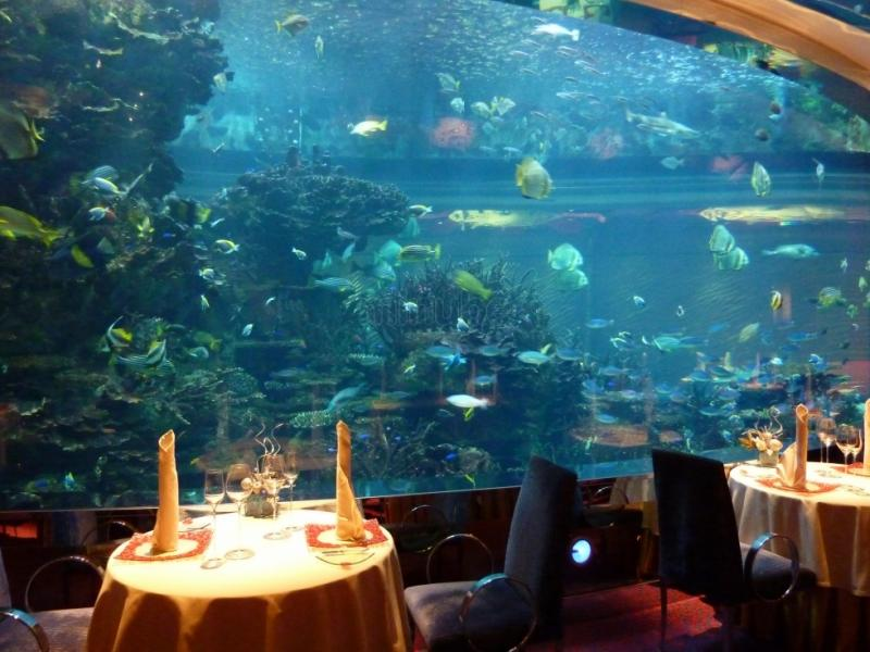 Burj Al Arab Under Water Restaurant